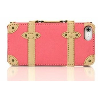 Trolley Case Hard for iPhone5/5s/トローリー ケース(ハード)DCI-12TH-PK/ピンク/5/5s/スマホ/カバー