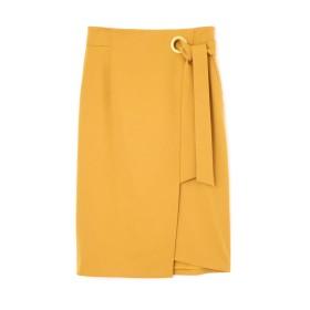 PINKY&DIANNE ワイドハトメラップリボンスカート
