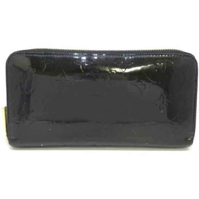 【中古】 ルイヴィトン 長財布 モノグラムヴェルニ ジッピー・ウォレット M91457 ブルーアンフィニ