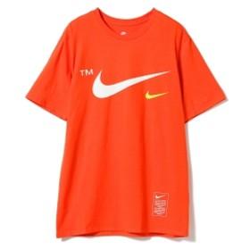 NIKE / スウォッシュ ロゴ プリント Tシャツ メンズ Tシャツ ORANGE M