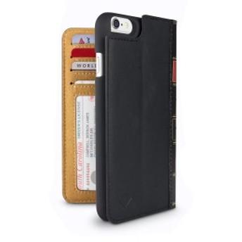 Twelve South BookBook for iPhone 6s/iphone6 本革 ケース クラシックブラック TWS-PH-000020c/6s スマホケース 洋書 手帳型