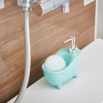 ソープディスペンサー bathtub(バスタブ) ブルー EF-UB06BL