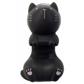 クロネコ 歯ブラシ置き ハシートップイン トゥースブラシホルダー HB-2880/ねこ 黒猫 おもちゃ 黒