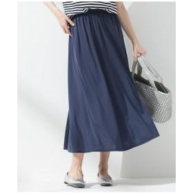 23区 【マガジン掲載】リラックスプレーンジャージー スカート(検索番号K29) その他 スカート,ネイビー