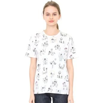 [マルイ]【セール】【ユニセックス】コラボレーションTシャツ/ぼくのキュートナパターン(荒井良二)/グラニフ(graniph)