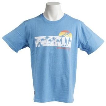 CHUMS チャムス サンセットキャンプ Tシャツ CH01-1356
