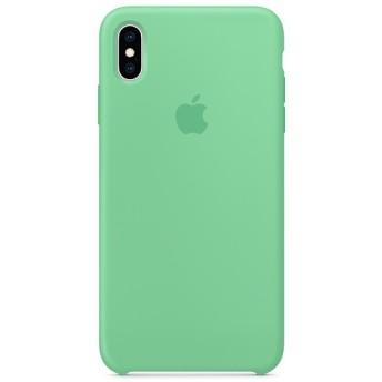 【純正】iPhone XS Max シリコーンケース スペアミント MVF82FE/A