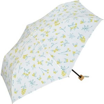 w.p.c(WPC)/日傘 晴雨兼用 折りたたみ T/C遮光エマズベリーズmini(レディース/雨の日も使える)