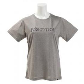 マーモット(Marmot) フラワーロゴハーフスリーブクルーシャツ TOWNJA63 GYM(Lady's)