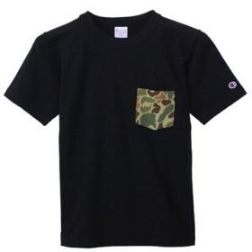 チャンピオン-ヘリテイジ(CHAMPION-HERITAGE) リバースウィーブ ポケット付きTシャツ C3-B369 104 (Men's)