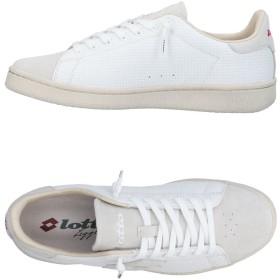 《期間限定 セール開催中》LOTTO LEGGENDA メンズ スニーカー&テニスシューズ(ローカット) ホワイト 40 革