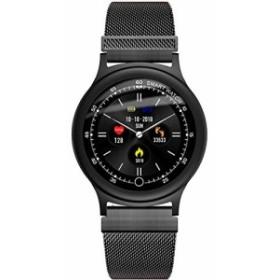【2019最新版】Q28知能腕時計の手の輪の亜鉛合金IP68の泳ぐ心拍の血圧のロングが機会を待ちを表示します スマートリストバンド 睡眠/健康