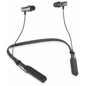 Bluetooth イヤホン ステレオイヤフォン ヘッドホン 進化版 首にかける式 マイク付き 高音質 重低音 有線 カナル型 防水 通話 遮音 ジャ