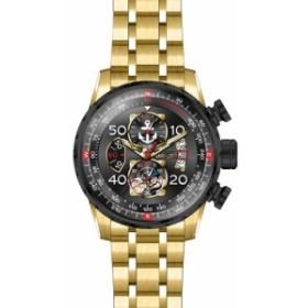 【当店1年保証】インヴィクタInvicta Men's Character Collection Quartz Watch with Gold-Tone-Stain