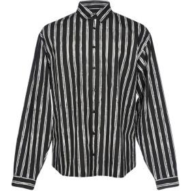 《期間限定 セール開催中》DOLCE & GABBANA メンズ シャツ ブラック 39 100% コットン