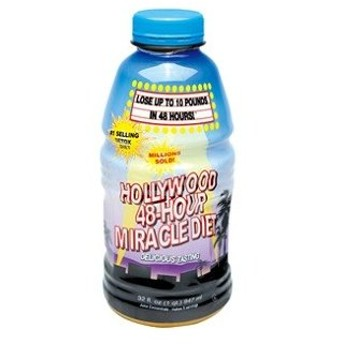 「グラフィコ」 ハリウッド 48時間 ミラクルダイエット フルーツミックスオレンジ味 947mL 「健康食品」