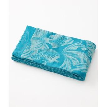 ふりふ 半巾帯「金魚」 レディース ターコイズブルー F 【FURIFU】
