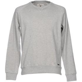 《期間限定セール開催中!》GARCIA JEANS メンズ スウェットシャツ ライトグレー XL 80% コットン 20% ポリエステル