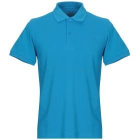《期間限定 セール開催中》LOTTO メンズ ポロシャツ ターコイズブルー S コットン 100%