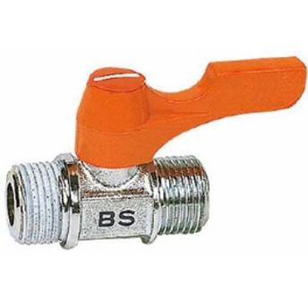 ASOH エースボール 外X外ネジ型 PT3/8XPF3/8【BS-1033】(流体継手・チューブ・ボールバルブ)