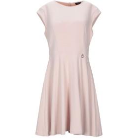 《セール開催中》MANGANO レディース ミニワンピース&ドレス ピンク L ポリエステル 74% / レーヨン 21% / ポリウレタン 5%