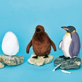YOU+MORE! 卵→ヒナ→成鳥に! オウサマペンギン3変化ぬいぐるみ フェリシモ FELISSIMO【送料:450円+税】