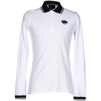 《期間限定セール開催中!》CAVALLI CLASS メンズ ポロシャツ ホワイト XXL コットン 100%