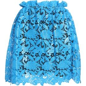 《期間限定 セール開催中》MSGM レディース ひざ丈スカート アジュールブルー 40 ポリエステル 100%