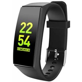 Moucit 最新版 スマートウォッチ スマートバンド 活動量計 歩数計 IP67防水 ランニングモード 腕時計 カラースクリーン スマートブレスレ