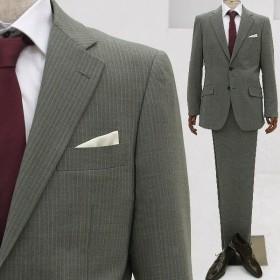 メンズ スーツ おしゃれ ビジネススーツ ジャケット スラックス フォーマル 結婚式 入学 社会人 メンズスーツ アジャスター付き 2つボタン シングル ローライズ