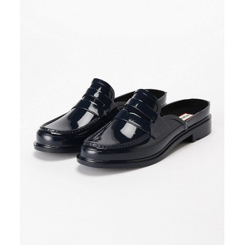 HUNTER ハンター ORIGINAL BACKLESS GLOSS PENNY LOAFER WFF1060RGL