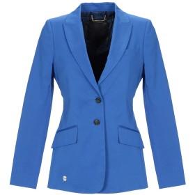 《期間限定セール開催中!》PHILIPP PLEIN レディース テーラードジャケット ブルー S コットン 97% / ポリウレタン 3%
