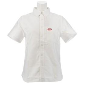 チャムス(CHUMS) OX 半袖シャツ CH12-1075 White Logo (Lady's)