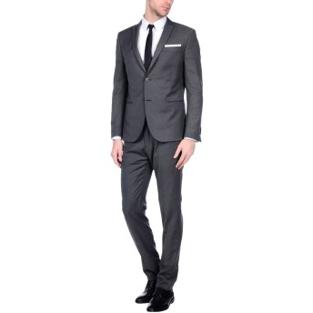 《セール開催中》GREY DANIELE ALESSANDRINI メンズ スーツ グレー 52 ポリエステル 65% / レーヨン 35%