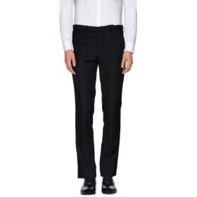 《期間限定セール開催中!》INCOTEX メンズ パンツ ブラック 48 ウール 100%