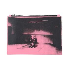 1d435db3487e9 《送料無料》CALVIN KLEIN 205W39NYC レディース ハンドバッグ ピンク 革