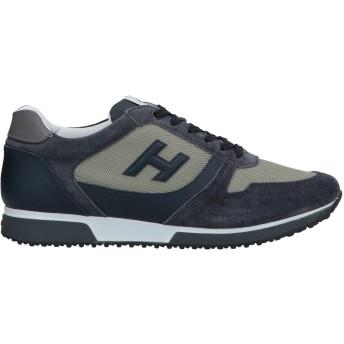 《セール開催中》HOGAN メンズ スニーカー&テニスシューズ(ローカット) 鉛色 10 革 / 紡績繊維