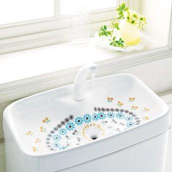 花咲く水辺のおもてなし 取り換えるだけお掃除 トイレの手洗いタンクシートの会 フェリシモ FELISSIMO【送料:450円+税】