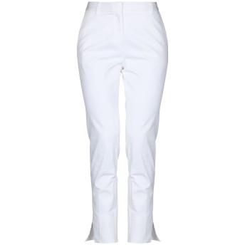 《セール開催中》CIVIDINI レディース パンツ ホワイト 42 コットン 98% / ポリウレタン 2%