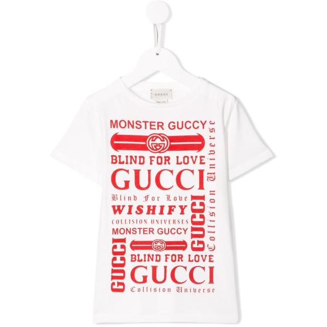 c69500e2ba0774 Gucci Kids ロゴ Tシャツ - ホワイト 通販 LINEポイント最大4.0%GET ...