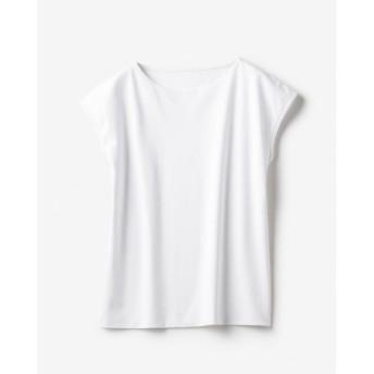 ドゥクラッセTシャツ・ボートネックフレンチ袖/58cm丈