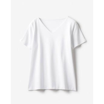 ドゥクラッセTシャツ・深Vネック半袖