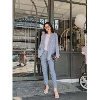 スーツパンツスーツ レディーステーラード セットアップ ビジネス リクルートフォーマル ファッション 通勤 オフィス OL