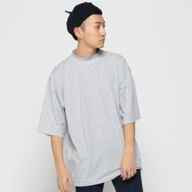 [マルイ]【セール】VAPORIZE / Mock Border T-shirt<br>/ビームス(BEAMS)
