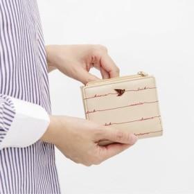 ポケットに入れて幸運のお守り スリムな二つ折り手のり財布の会 フェリシモ FELISSIMO【送料:450円+税】