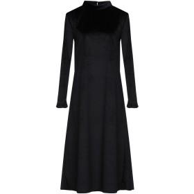 《セール開催中》GUTTHA レディース 7分丈ワンピース・ドレス ブラック S ポリエステル 100%