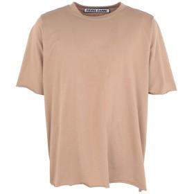 《送料無料》PIERRE DARR メンズ T シャツ ベージュ S コットン 100%