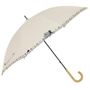 [マルイ]【セール】日傘【Disney(ディズニー)】(手開き式長傘/刺繍/晴雨兼用/UVカット率&遮光率99%以上/ラインドロップス(LINE DROPS)