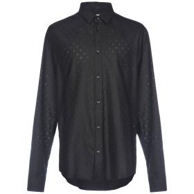 《期間限定 セール開催中》VERSACE COLLECTION メンズ シャツ ブラック 40 コットン 100%