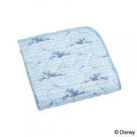 ひんやりパッドシーツ ミッキーマウス シングル 100×205cm Disney ディズニー 敷きパッド シキパッド しきぱっど 昭和西川